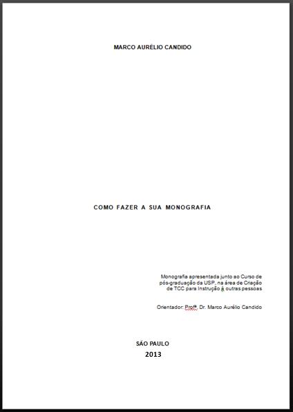 formato de monografia en word